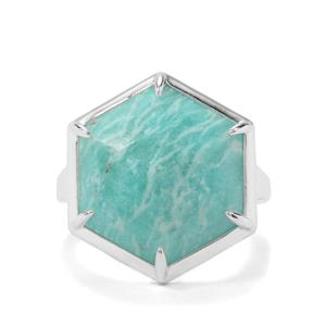 9.58ct Amazonite Sterling Silver Ring