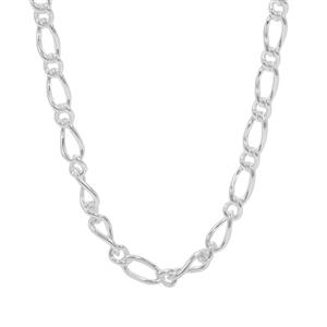"18"" Sterling Silver Couture Figaro Chain 4.56g"