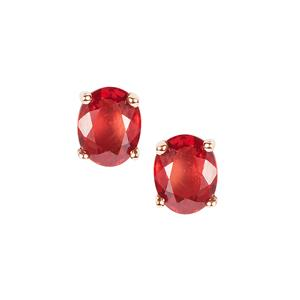 Winza Ruby Earrings in 9K Gold 0.90cts