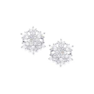 1ct Diamond 18K Gold Tomas Rae Earrings