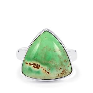 Australian Variscite Ring in Sterling Silver 9cts