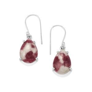 Lepidolite Earrings in Sterling Silver 16cts