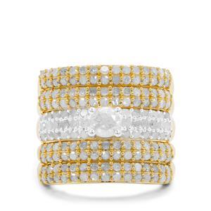 2.50ct Diamond Midas Ring