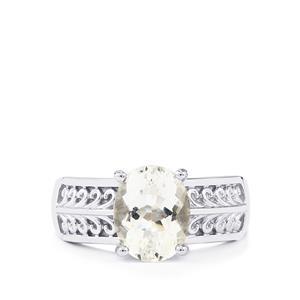 2.14ct Itinga Petalite Sterling Silver Ring