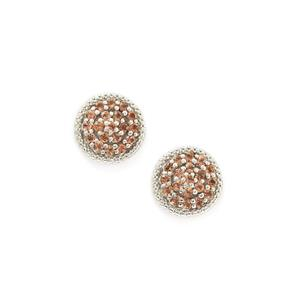 1.39ct Gouveia Andalusite Sterling Silver Earrings