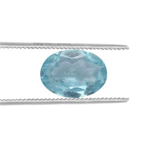 Madagascan Blue Apatite GC loose stone  0.50ct
