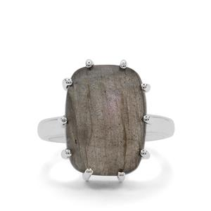 Labradorite Ring in Sterling Silver 11cts