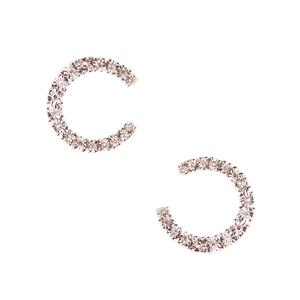 Diamond Earrings in Sterling Silver 0.21ct