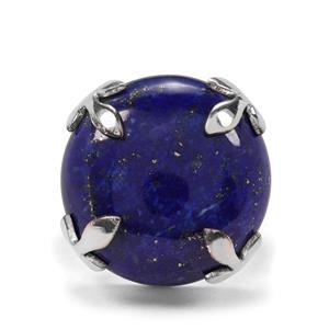 24ct Sar-i-Sang Lapis Lazuli Sterling Silver Aryonna Ring