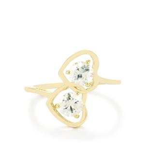 Singida Tanzanian Zircon Ring in 10k Gold 1.35ct