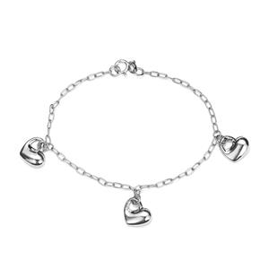 Rhodium Plated Sterling Silver Altro Bracelet 3.36g