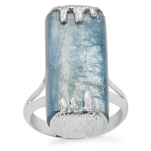 Blue Kyanite Sarah Bennett Ring in Sterling Silver 31.07cts