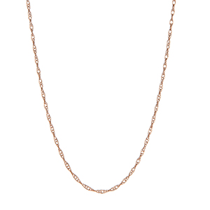 "18"" 9K Gold Classico Prince of Wales Chain 0.34g"