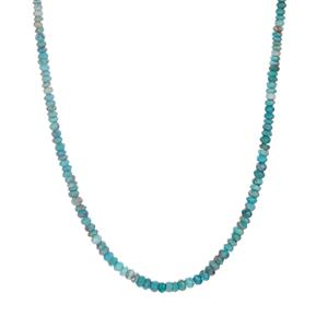 Cochise Turquoise Necklace in Sterling Silver 36.03cts