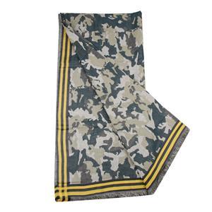 Destello Designer Camouflage Scarf (Yellow & Blue)