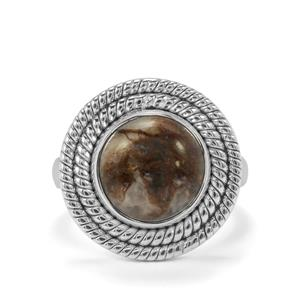Wild Horse Jasper Ring in Sterling Silver 4.72cts
