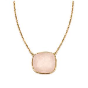 16.1ct Morganite Sterling Silver Sarah Bennett Necklace