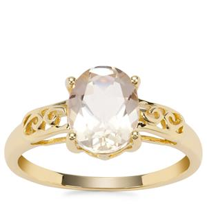 Serenite Ring in 9K Gold 1.71cts
