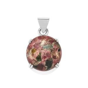 17ct Fusion Tourmaline Sterling Silver Aryonna Pendant