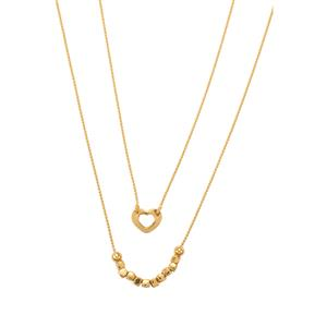 Graduate Necklace in Gold Plated Sterling Silver 4.15g