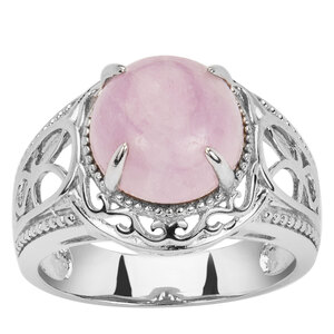 Kunzite Ring in Sterling Silver 4.97cts
