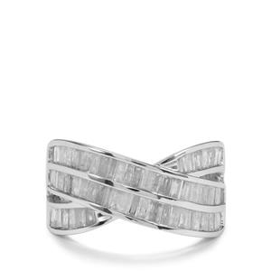 1.55ct Diamond 10K White Gold Tomas Rae Ring