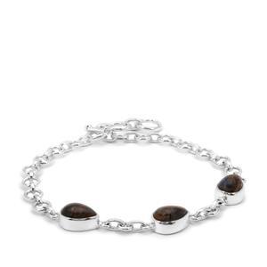 Arizona Pietersite Bracelet in Sterling Silver 9cts