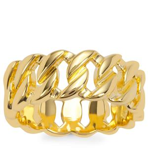 Ring in Gold Plated Sterling Silver
