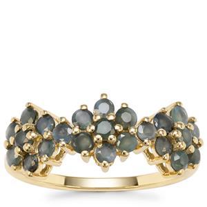 Orissa Alexandrite Ring in 9K Gold 1.22cts