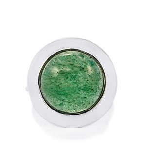 14ct Aventurine Quartz Sterling Silver Aryonna Ring