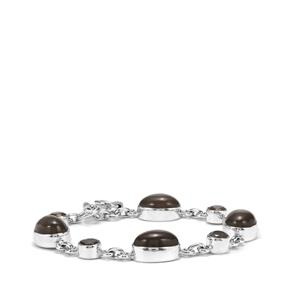 Nova Moonstone Bracelet with Labradorite in Sterling Silver 28cts