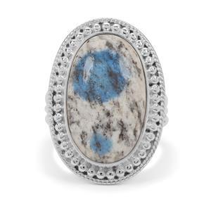 10ct K2 Jasper Sterling Silver Aryonna Ring