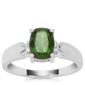 Chrome Diopside Ring in Sterling Silver 1.46cts