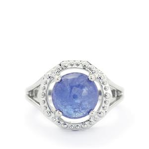 5.58ct Tanzanite Sterling Silver Ring