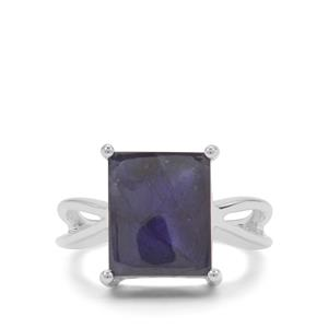 Thai Sapphire Ring in Sterling Silver 9.90cts (F)