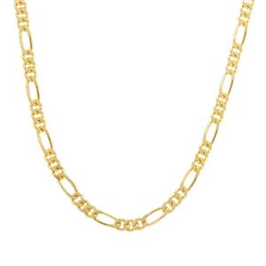 "26"" Midas Couture Diamond Cut Figaro Chain 3.11g"