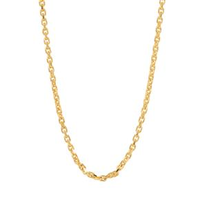 "24"" Midas Couture Diamond Cut Forzentina Slider Chain 2.01g"