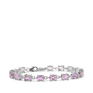 Moroccan Amethyst Bracelet in Sterling Silver 11.14cts