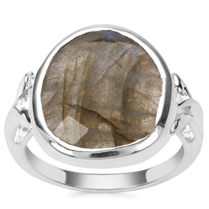 Labradorite Ring in Sterling Silver 7.85cts