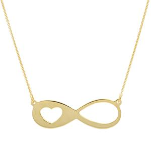 "18"" Midas Remembrance Infinity Necklace 1.47g"