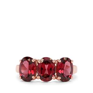 4.59ct Mahenge Garnet 9K Rose Gold Ring