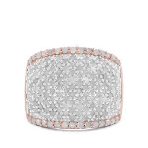 2ct Diamond Rose Midas Ring