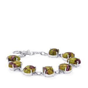 36ct Stichtite Sterling Silver Aryonna Bracelet