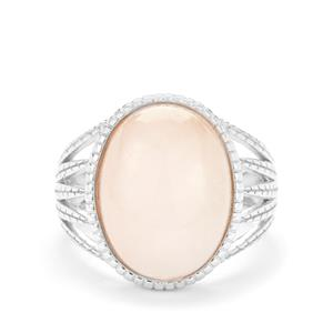 Galileia Morganite Ring in Sterling Silver 9.52cts