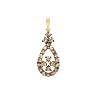 Argyle Diamond Pendant in 18K Gold 1.05ct