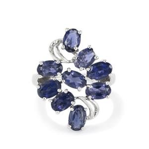 3.16ct Bengal Iolite Sterling Silver Ring