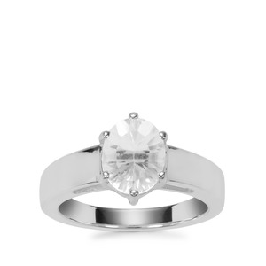 Itinga Petalite Ring in Sterling Silver 1.50cts