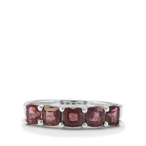 Burmese Spinel Ring in Sterling Silver 1.97cts