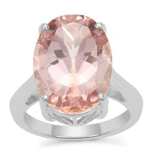 Galileia Topaz Ring in Sterling Silver 16.34cts