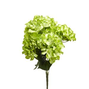 Green Hydrangea Artificial Bunch of Flowers